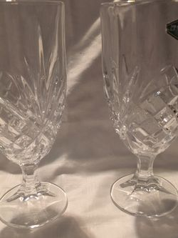 Shannon Crystal By Godinger Dublin Iced Beverage Glasses for Sale in Vancouver,  WA