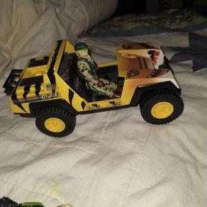 $20! 1988 GI Joe Jeep With Man Vintage for Sale in Orange, CA