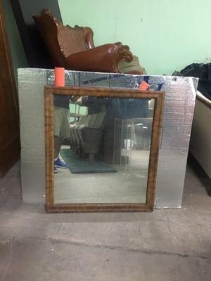 Antique burlwood mirror for Sale in Whittier, CA