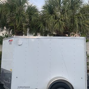 5x8 Enclosed Work Trailer for Sale in Broomfield, CO