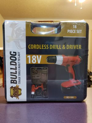 18 V Cordless Drill / Driver NEW for Sale in Fayetteville, AR
