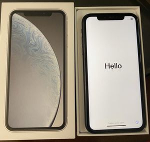 iPhone XR Black Unlocked $529 for Sale in Arlington, VA