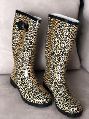 Animal Print Rain Boots for Sale in Glenn Dale, MD