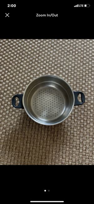 "Large 10"" Pot Stainless Steel Steamer Insert for Sale in Carlsbad, CA"