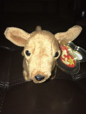 "Rare Beanie Baby dog ""weenie"" 1995 Original Release discontinued great condition for Sale in Cincinnati, OH"