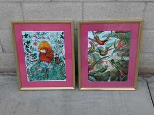 2 GORGEOUS Limited Edition G.uccI Prints for Sale in Santa Fe Springs, CA