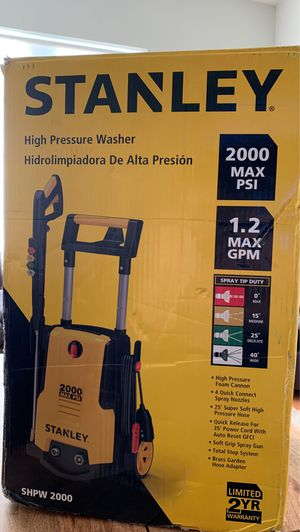 New pressure washer 2000 max psi for Sale in North Bergen, NJ
