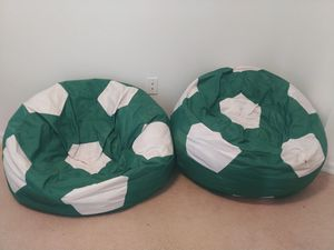 kids bean bag chairs soccer for Sale in Kissimmee, FL