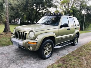 2004 Jeep liberty renegade one owner extremely clean ice cold AC runs and drives great for Sale in Tampa, FL