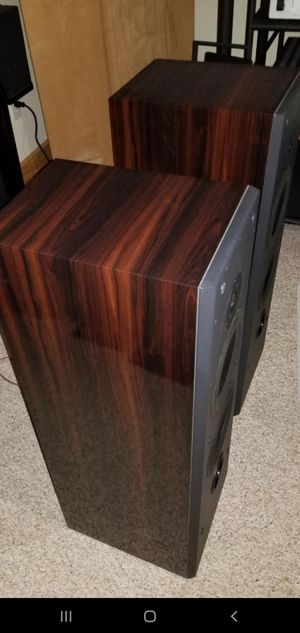 POLK AUDIO LS-70 ROSEWOOD SET for Sale in Bullhead City, AZ