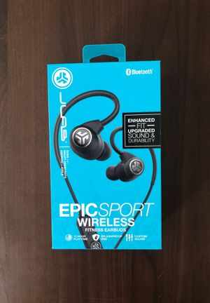 JLab Epic Sport Wireless Earbuds for Sale in Washington, DC