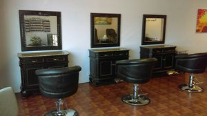 Hair Salon furniture equipment. Salon stations, Salon chairs, styling stations & chairs for Sale in Virginia Beach, VA