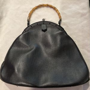 Gucci Black Large Bamboo Handle VERY GOOD for Sale in Chicago, IL