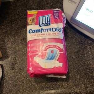 Diapers Xs/s For Pet for Sale in Algonquin, IL