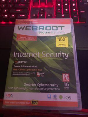 Webroot internet security for Sale in Dearborn, MI