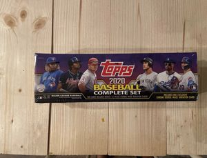 2020 Topps MLB Baseball Complete Factory Sealed - TARGET Purple Set + CHROME RC for Sale in Miami, FL