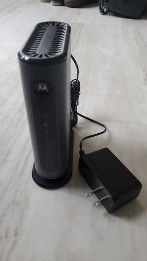 Cable modem. Motorola for Sale in Austin, TX