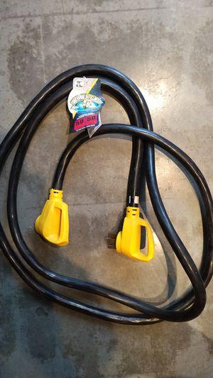 Camco 50-50-RV 15ft 50amp RV extension cord for Sale in Dallas, TX