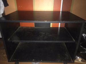 Small rolling entertainment center/shelf for Sale in Portland, OR
