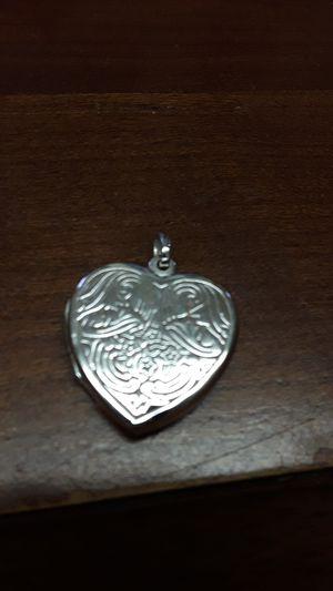 zterling heart shaped locket for Sale in Madison, VA
