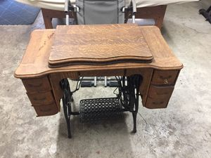 Antique sewing machine furniture only. for Sale in Wood Village, OR