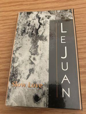 LEJUAN SLOW LOVE CASSETTE TAPE SINGLE NEW SEALED 1994 for Sale in Cape Elizabeth, ME