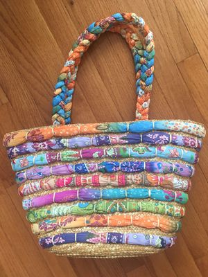 NEW Cappelli Straw Bag Tote for Sale in Herndon, VA