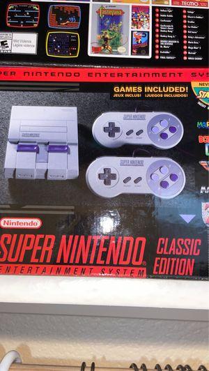 Classic Super Nintendo console for Sale in Fresno, CA