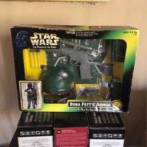 Star Wars Boba Fetts Armor for Sale in Baldwin Park, CA