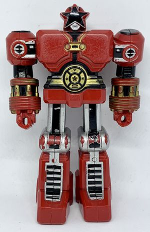"""POWER RANGERS ZEO Deluxe Red Battlezord w/Punching Action 1996 5"""" Bandai for Sale in Everett, WA"""
