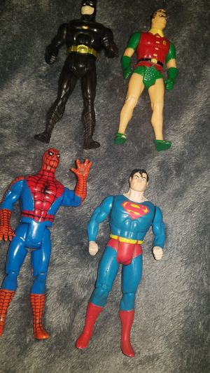Vintage dc figures for Sale in Martinsburg, WV