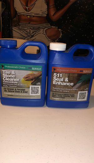 Tile & Stone Cleaner / 511 Seal & Enhance for Sale in Atlanta, GA