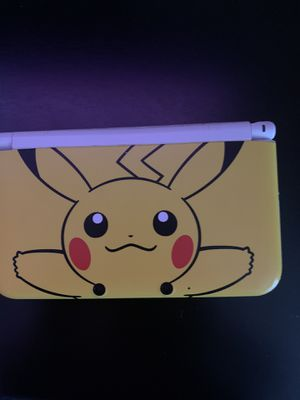 Nintendo 3DS Xl Pikachu edition for Sale in Sacramento, CA