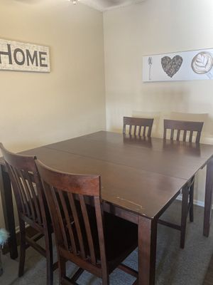 Expandable Dining Table W/ Chairs for Sale in Norwalk, CA