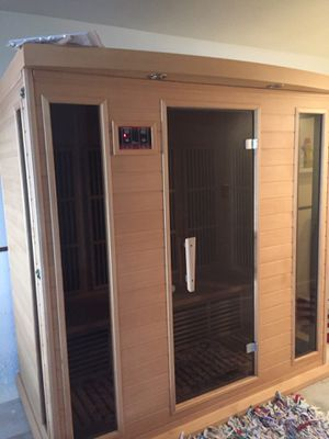 Indoor sauna.. only used 2 times.. sells for 3900 will sell for 400. You disassemble and move. Cambria for Sale in Cambria, CA
