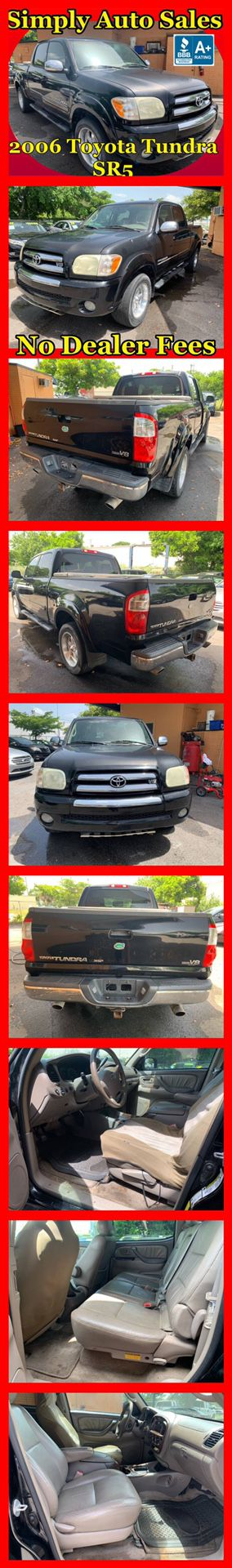 2006 Toyota Tundra SR5 4 Dr Double Cab for Sale in West Palm Beach, FL