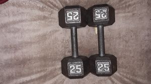 25lb weights Set for Sale in Baltimore, MD