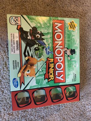 Monopoly Junior for Sale in Buckley, WA