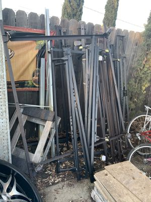 Cal California eastern king queen full double twin metal bed frame for Sale in Rocklin, CA