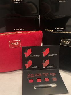Chanel Bundle Makeup Bag Perfume Samples for Sale in Los Angeles,  CA