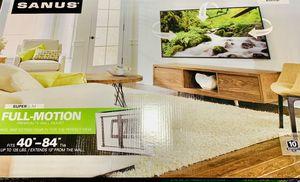 Sanus super slim Full motion mount for Sale in Washington, DC