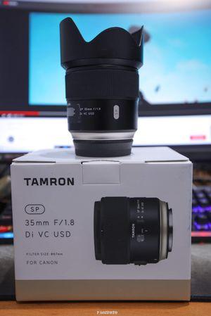 Tamron 35mm F1.8 G2 Di VC For Canon for Sale in Garden Grove, CA