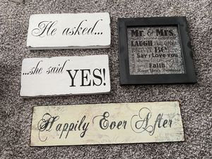 Wedding/Engagement Signs for Sale in Gilbert, AZ