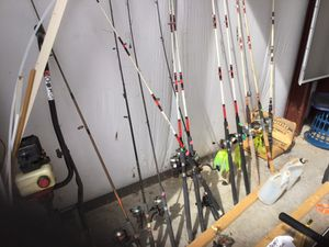 Fishing poles for Sale in Brandywine, WV