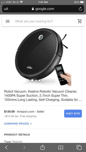 Kealive robotic vacuum cleaner for Sale in Glendora, CA