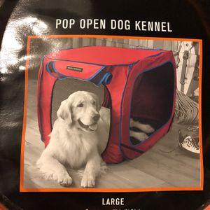 Large Pop Open Dog Kennel New for Sale in Phoenix, AZ