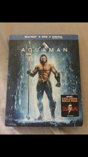 Aquaman Blu-ray for Sale in Clovis, CA