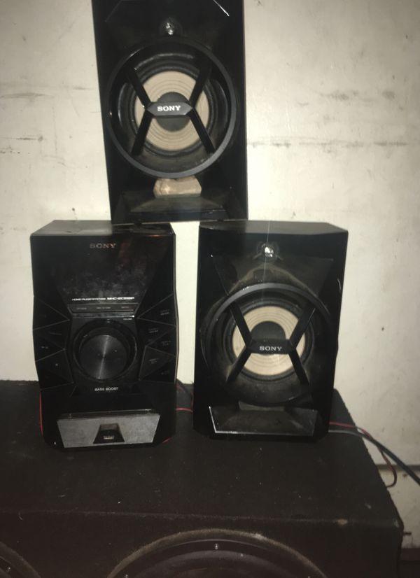 Sony mtx audio speaker