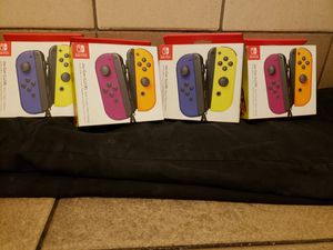 Brand new Nintendo switch Joy con left and right controllers for Sale in Los Angeles, CA