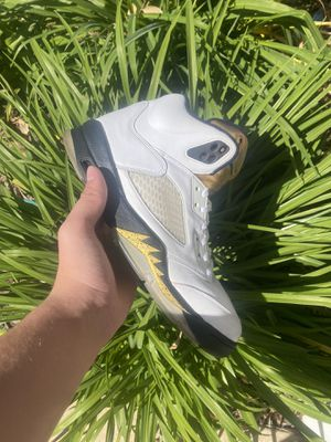 Size 10 Jordan 5 Olympic Gold for Sale in Stokesdale, NC